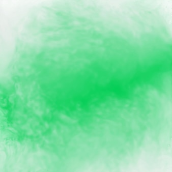 Texture de fond aquarelle abstraite verte