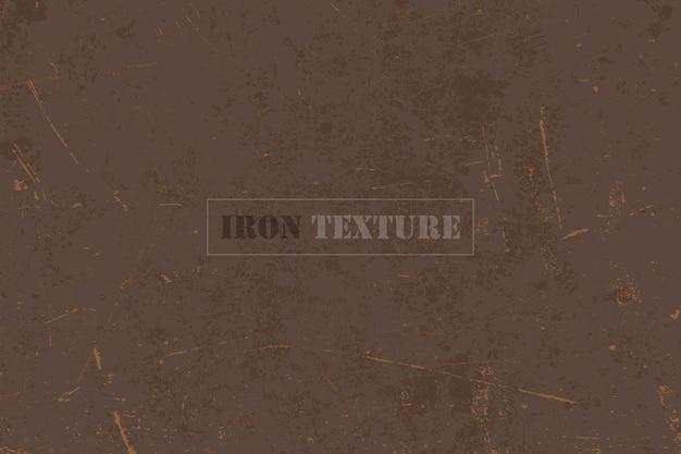 Texture de fond de fer rouillé