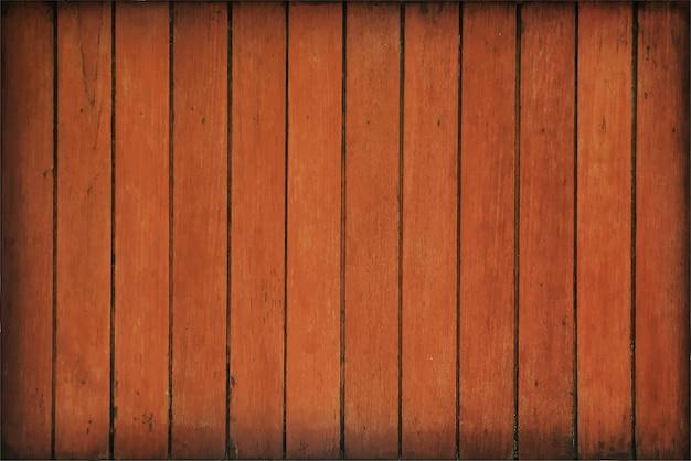Texture de fond de vieilles planches de bois vintage vertical brun