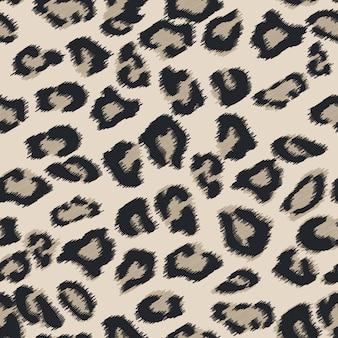 Texture de fourrure de guépard sans soudure.