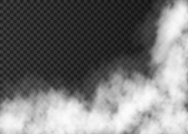 Texture De Fumée Ou De Brume De Feu Vecteur Premium