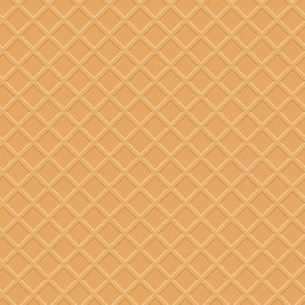 Texture de la gaufre sans soudure