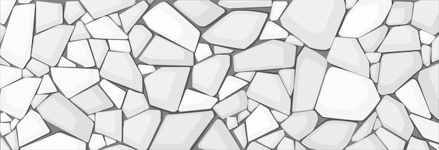 Texture de gravier blanc