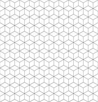 Texture de grille de motif géométrique de vecteur avec des lignes.