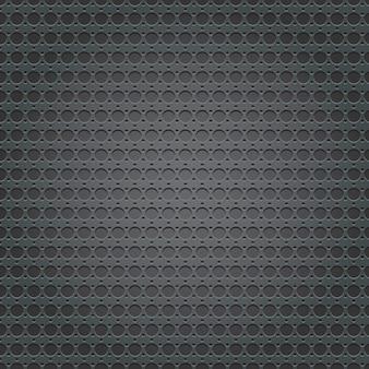 Texture de grille de plaque métallique