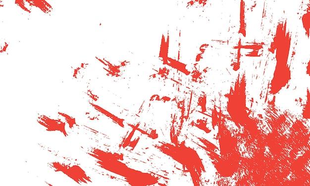 Texture grunge abstraite en couleur rouge