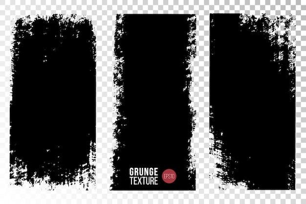 Texture grunge définie arrière-plans