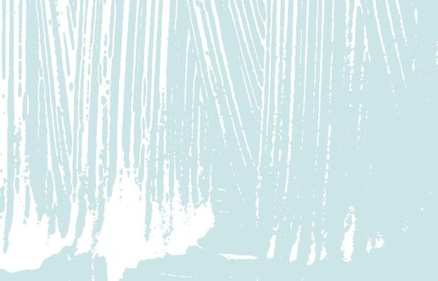 Texture grunge. trace rugueuse bleu de détresse. arrière-plan agréable. texture grunge sale de bruit. surface artistique éblouissante. illustration vectorielle.