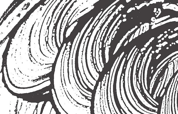 Texture grunge. trace rugueuse gris noir de détresse. arrière-plan admirable. texture grunge sale de bruit. belle surface artistique. illustration vectorielle.