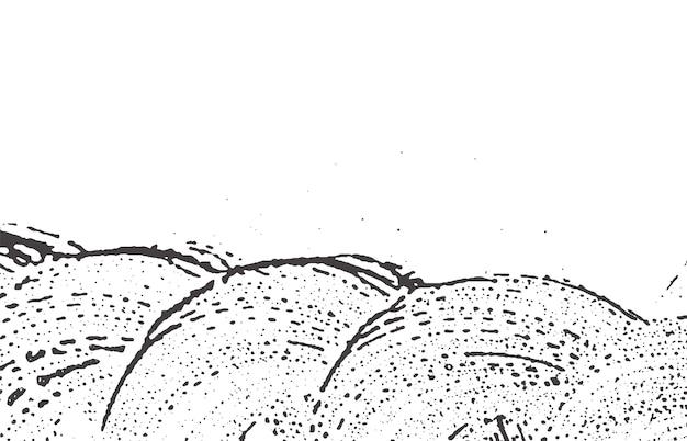 Texture grunge. trace rugueuse gris noir de détresse. contexte attrayant. texture grunge sale de bruit. curieuse surface artistique.