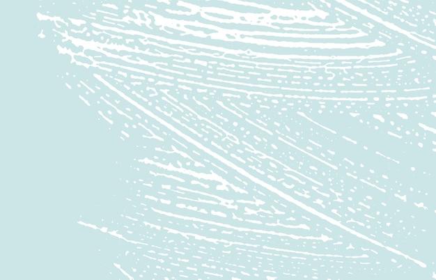 Texture grunge. tracé rugueux bleu de détresse. fond éblouissant. texture grunge sale de bruit. surface artistique puissante.