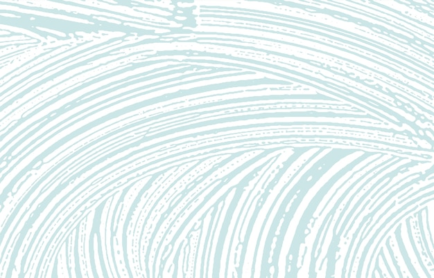 Texture grunge. tracé rugueux bleu de détresse.