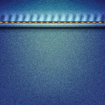 Texture de jean délavé en denim pâle