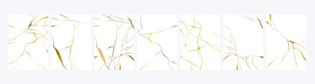 Texture de marbre doré de luxe
