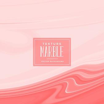 Texture de marbre liquide abstrait pastel rouge
