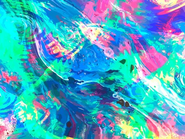 Texture de marbre liquide. art fluide. peinture moderne abstraite.