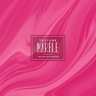 Texture de marbre liquide de couleur magenta