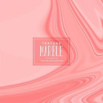 Texture de marbre liquide de couleur rose élégante