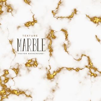 Texture de marbre de style luxe avec des nuances dorées