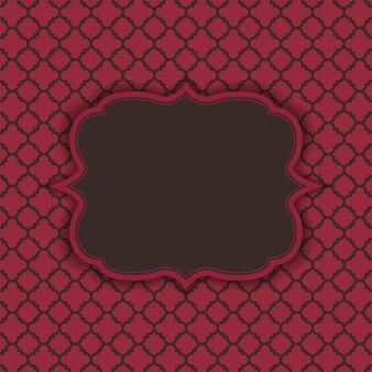 Texture marocaine abstraite