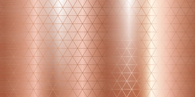 Texture en métal or rose