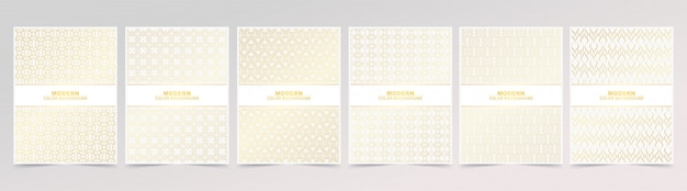 Texture de motif de couleur or abstrait pour la couverture du livre