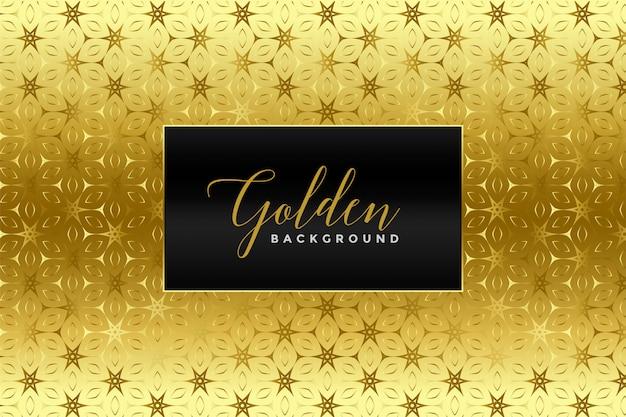 Texture de motif feuille d'or