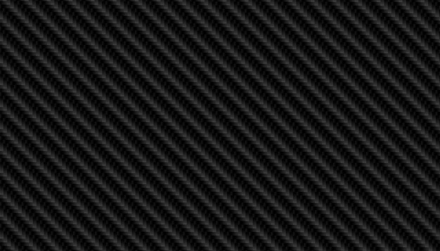 Texture de motif en fibre de carbone noire