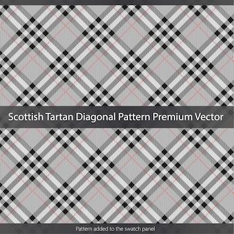 Texture de motif tartan écossais premium