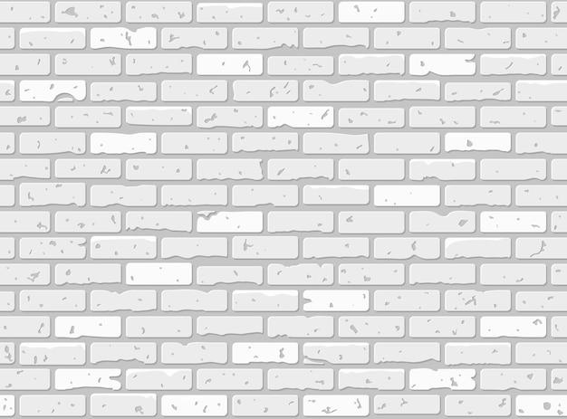Texture de mur de brique grunge sans soudure