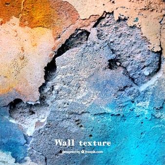 Texture de mur avec de la peinture