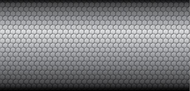 Texture de nid d'abeilles vector gris polygone