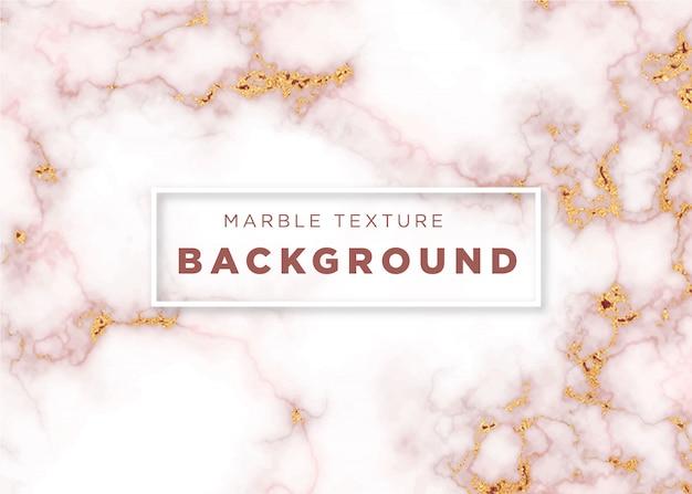Texture or ou effet de marbre rose doré effet backgrond