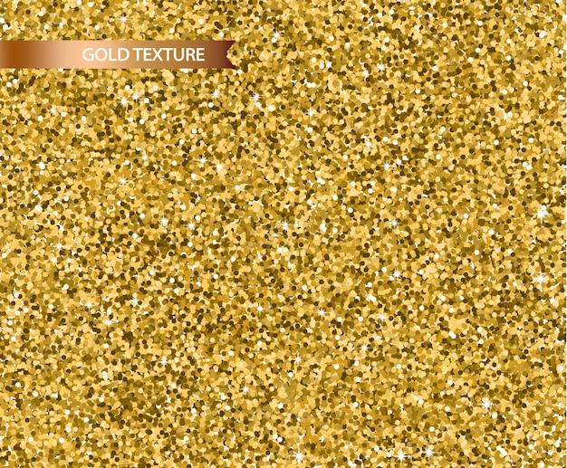 Texture de paillettes d'or réaliste