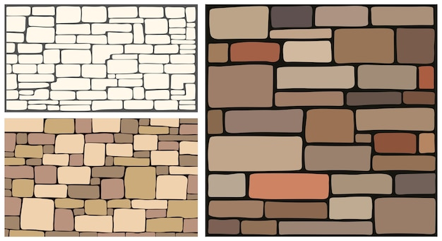 Texture de pierre, texture de fond de brique