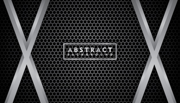 Texture réaliste en métal noir