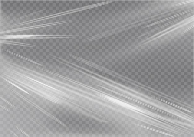 Texture réaliste de pellicule plastique couverture en polyéthylène étiré surface ridée