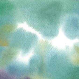 Texture de tache aquarelle abstraite verte