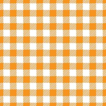 Texture de tissu orange et blanc