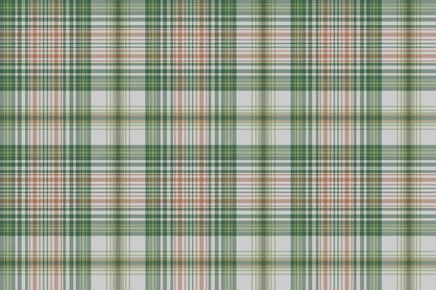 Texture de tissu sans couture carreaux carreaux or vert