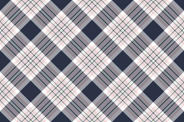 Texture de tissu sans couture diagonale chemise à carreaux