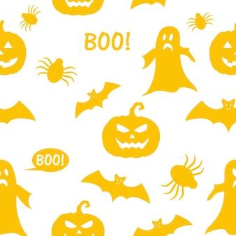 Texture transparente orange le concept d'halloween