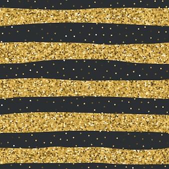 Texture transparente paillettes d'or jaune