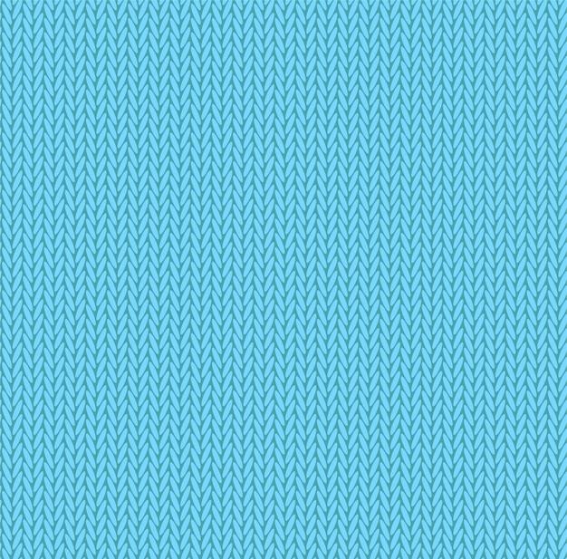 Texture tricotée couleur bleu clair.