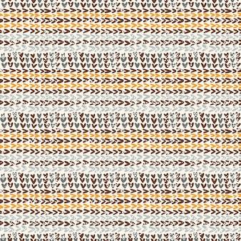 Texture tricotée dans la palette de couleurs marron