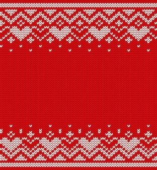 Texture tricotée, modèle sans couture. vecteur.
