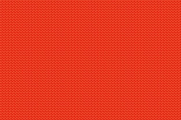 Texture tricotée rouge