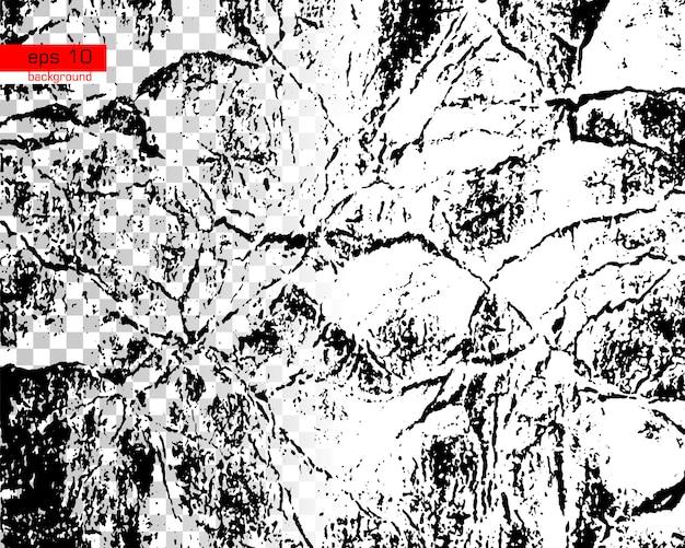 Texture de vecteur urbain grunge noir et blanc fond de détresse superposition de poussière en désordre