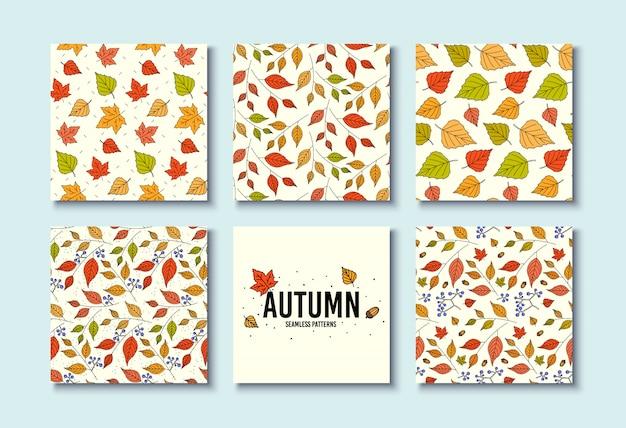 Textures d'automne