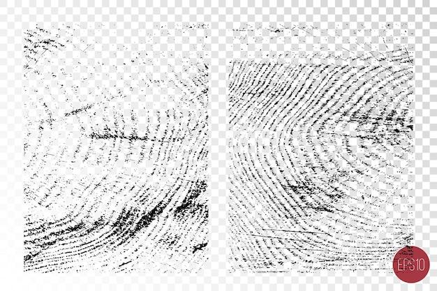 Textures en bois superposées en détresse